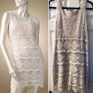 Jennifer Lopez Crochet Dress